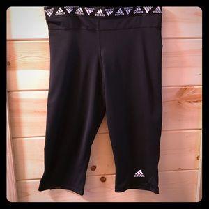 Adidas women's cropped leggings